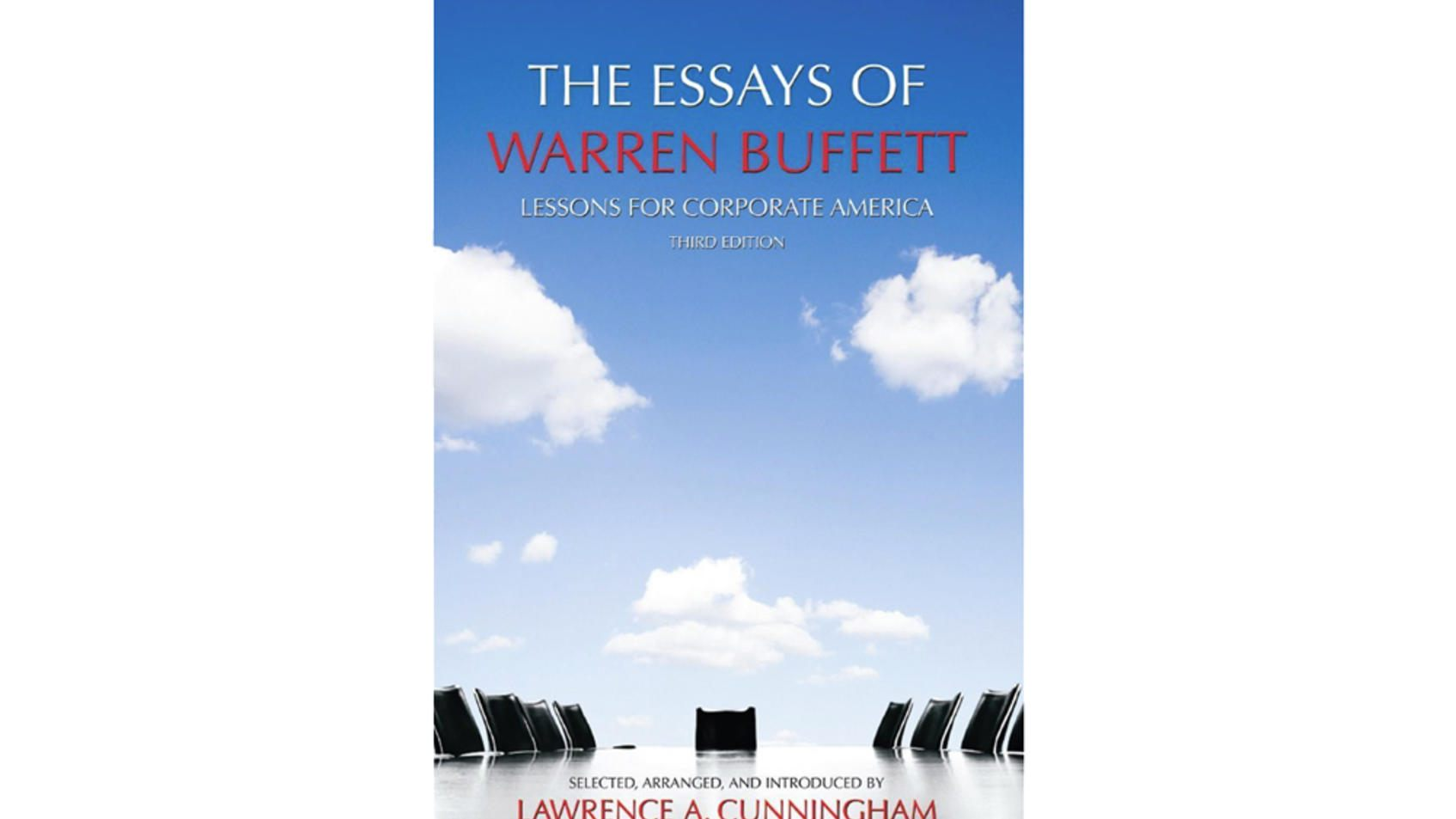 warren buffett essays amazon A list of the books that warren buffett recommends reading the most anyone who is familiar with how jeff bezos built amazon will tell you that this book is the cornerstone for building the culture of the company built to last shows how the company identity guides successful companies, but only for those who embrace.