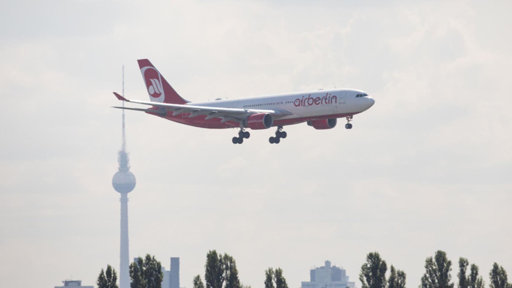 Konkurrent Germania will Staatshilfe für Air Berlin stoppen