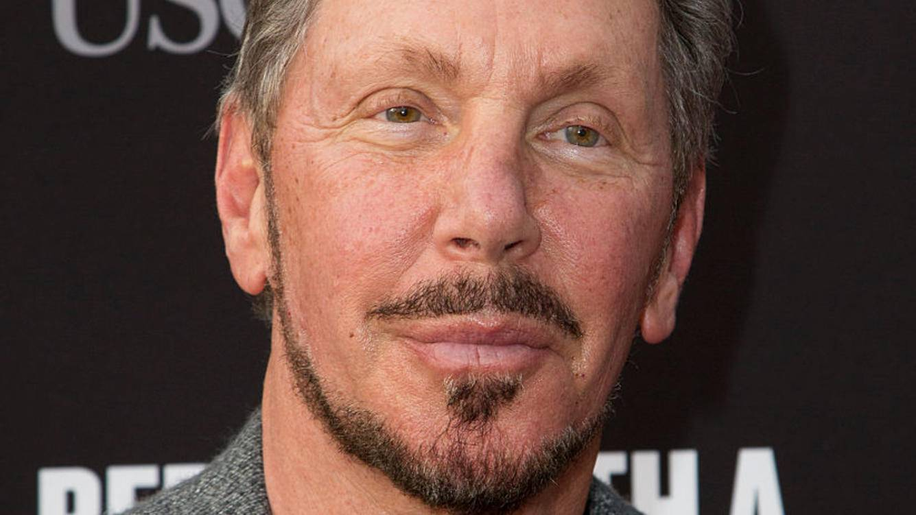 SANTA MONICA, CA - MAY 11:  Larry Ellison attends the 3rd Biennial Rebels with a Cause Fundraiser at Barker Hangar on May 11, 2016 in Santa Monica, California.  (Photo by Vincent Sandoval/FilmMagic)