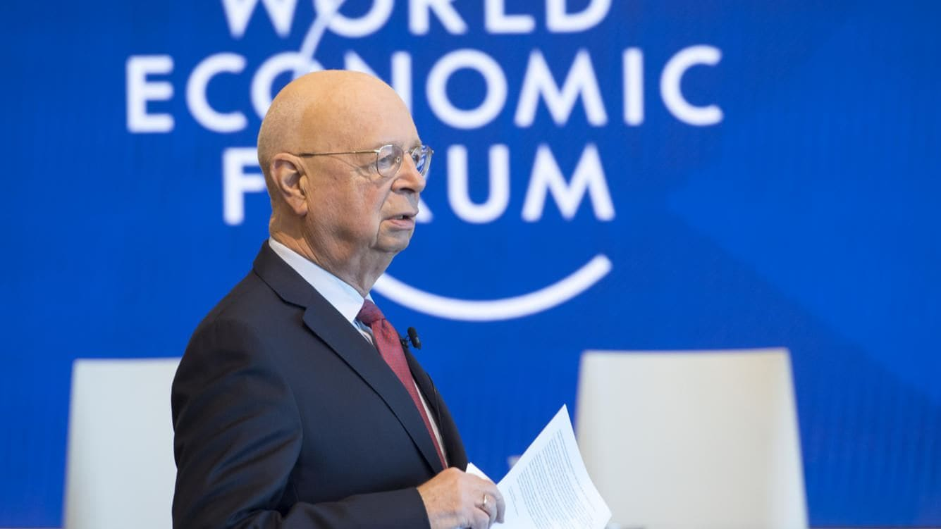 "German Klaus Schwab, Founder and Executive Chairman of the World Economic Forum, WEF, arrives for a press conference, in Cologny near Geneva, Tuesday, January 15, 2019. The World Economic Forum today unveiled the programme for its Annual Meeting in Davos, Switzerland, including the key participants, themes and goals. The overarching theme of the Meeting, which will take place from 22 to 25 January, is ""Globalization 4.0"". (KEYSTONE/Laurent Gillieron)"