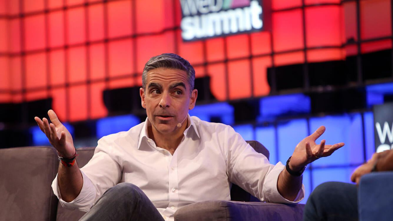 David Marcus of Facebook speaks during the second day of the Web Summit in Lisbon, Portugal on November 8, 2016.  ( Photo by Pedro Fiúza/NurPhoto via Getty Images)