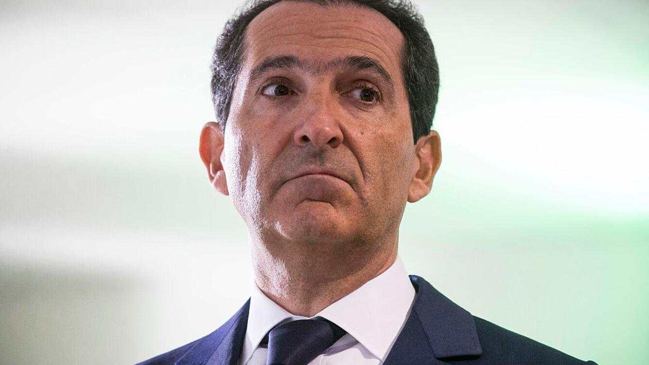 PARIS, FRANCE - APRIL 19:  (FRANCE OUT) Patrick Drahi, president of french telecom group Altice at the inauguration of the Drahi-X Novation Center, dedicated to entrepreneurship and innovation, at the Ecole Polytechnique, in Palaiseau (near Paris), on tuesday, April 19, 2016. Patrick Drahi invested in the construction of the center which will be part of the Ecole Polytechnique.  (Photo by Christophe Morin/IP3/Getty Images)