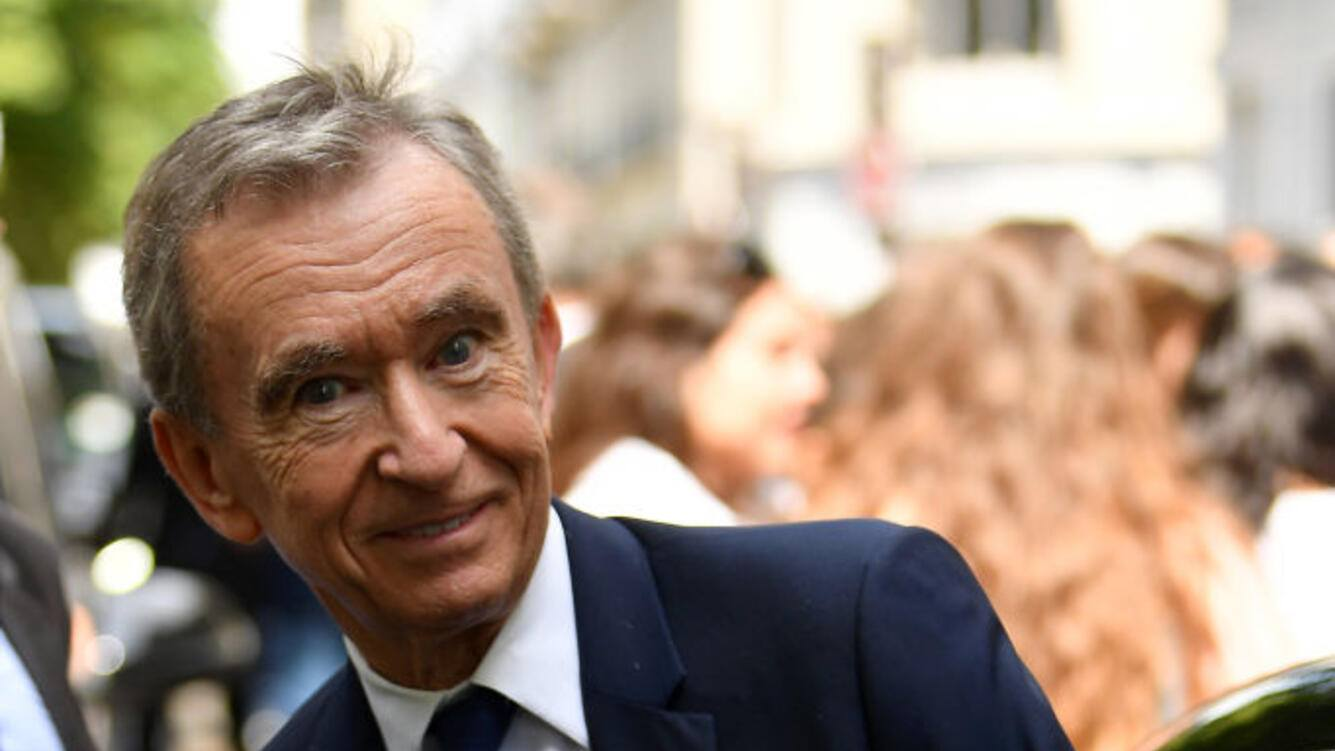 PARIS, FRANCE - JULY 01: Bernard Arnault attends the Christian Dior Haute Couture Fall/Winter 2019 2020 show as part of Paris Fashion Week on July 01, 2019 in Paris, France. (Photo by Jacopo Raule/Getty Images)