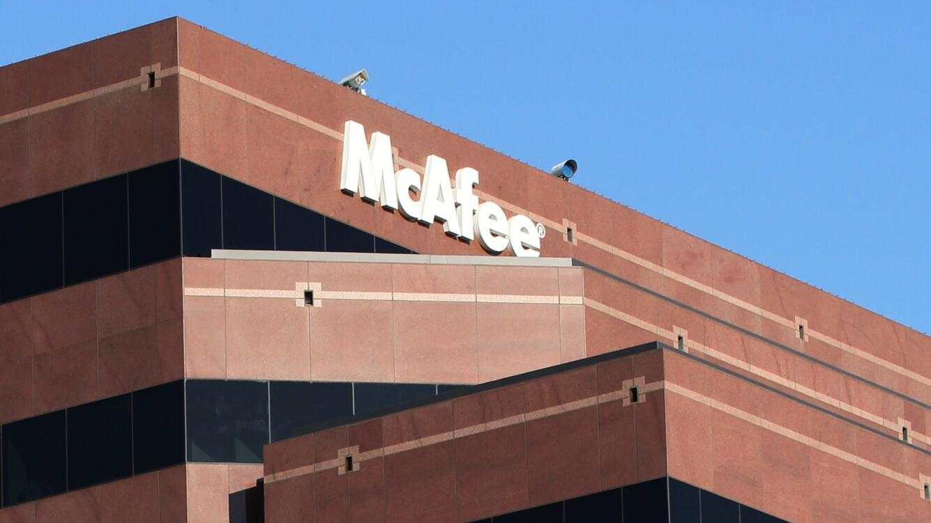 epa02293719 McAfee Corporation headquarters in Santa Clara, California, USA, 19 August 2010. Intel is buying McAfee Inc., the security software company for 7.68 billion USD. The all-cash deal marks the largest acquisition in Intel's 42-year history.  EPA/NORBERT VON DER GROEBEN