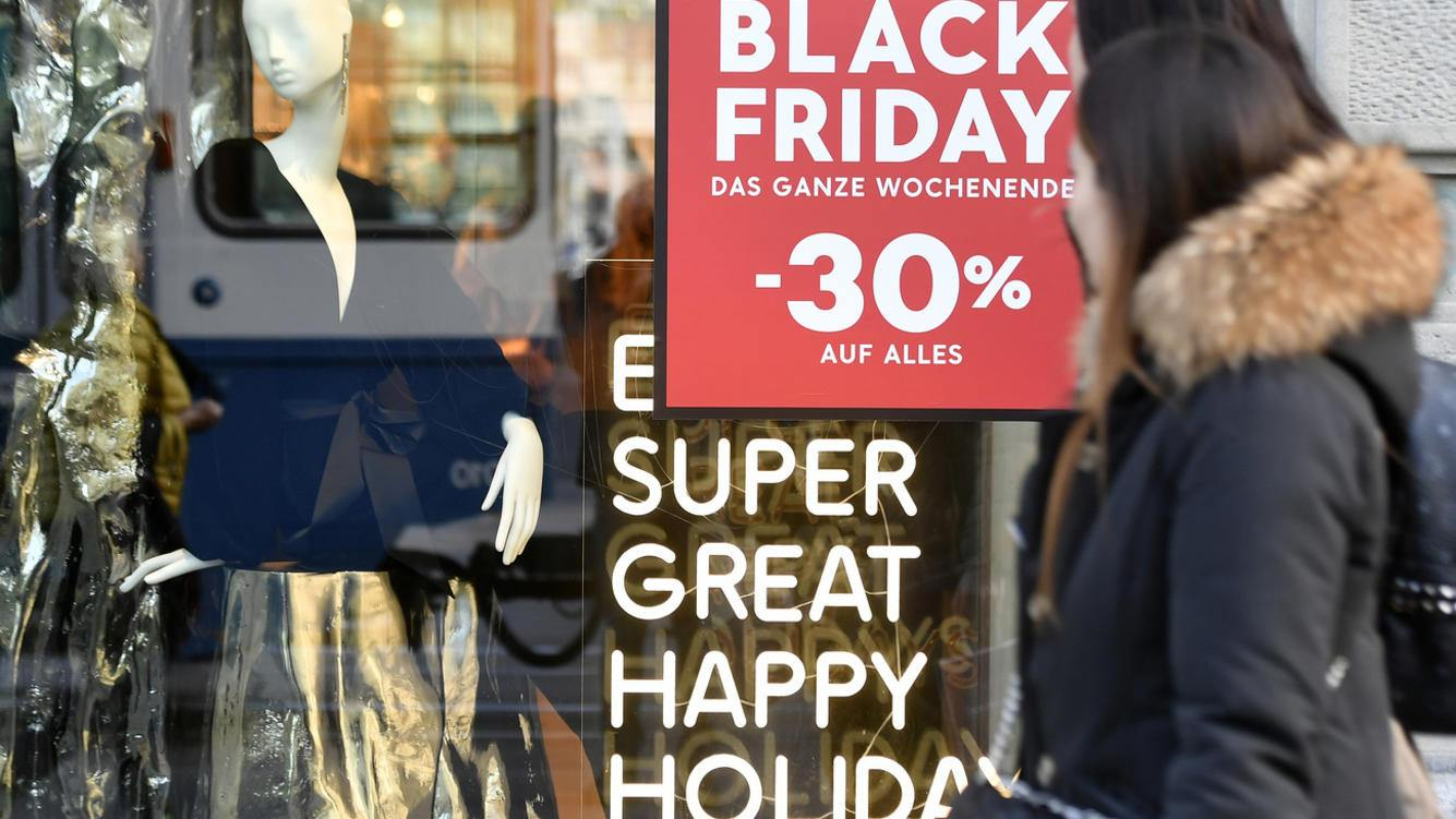 Black Friday in der Schweiz