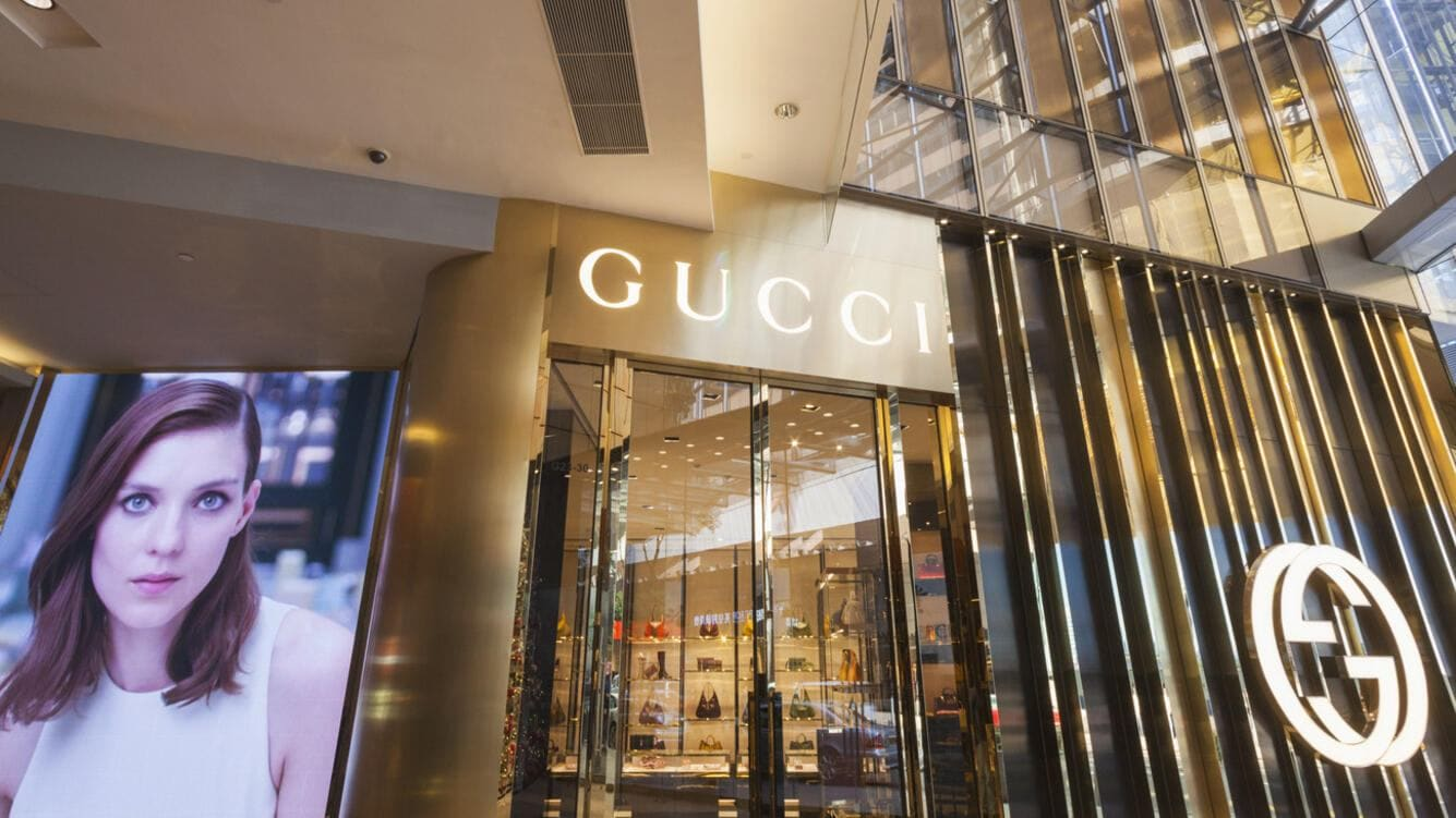 Gucci-Laden in Hongkong.