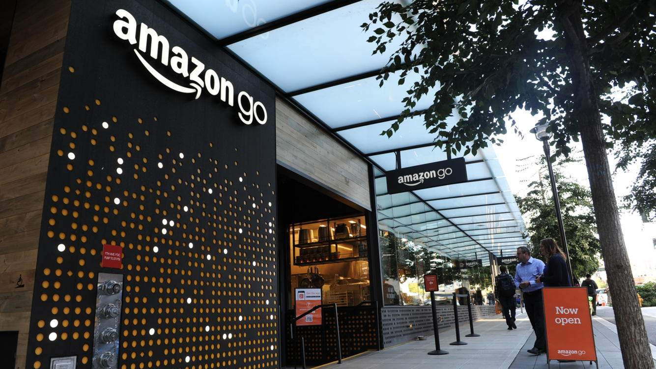 Neuer Amazon-Go-Laden in Seattle