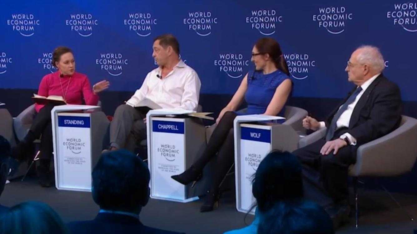 Brexit-Panel am WEF