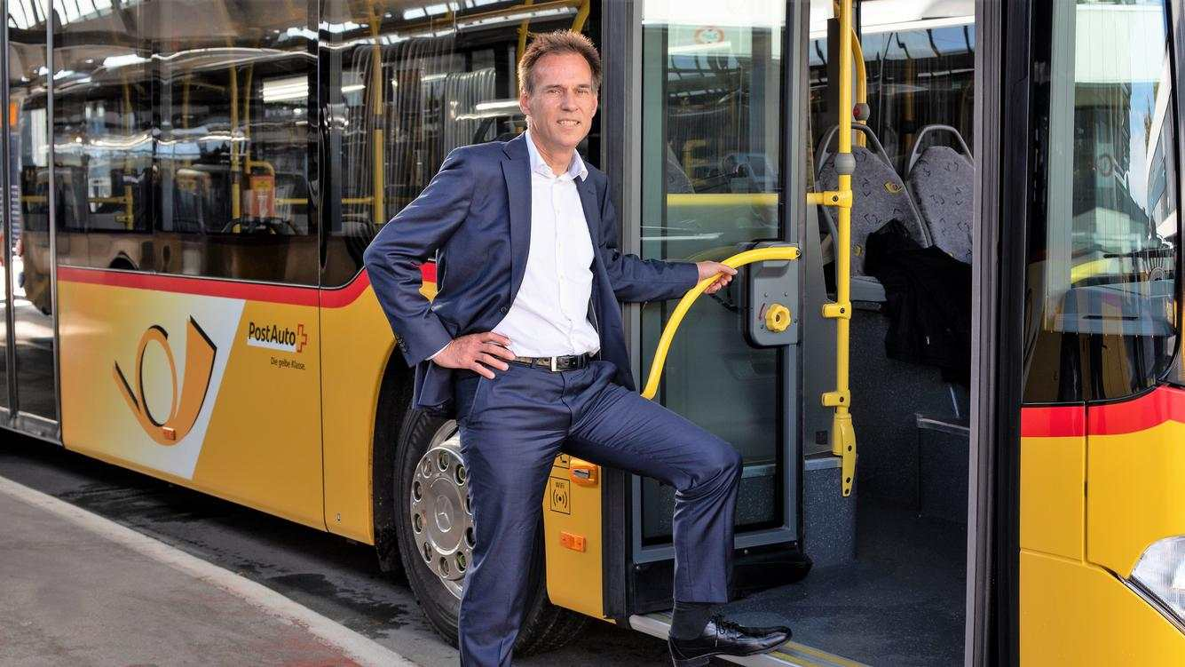 Christian Plüss Postauto