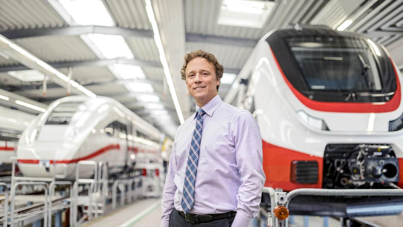 Danny Di Perna is currently the President of Bombardier Transportation, photographer Pepe Lange