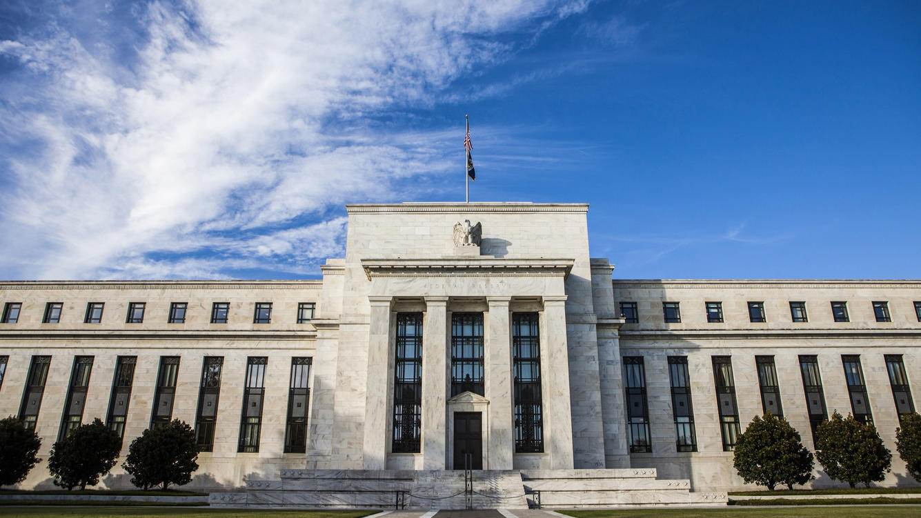 WASHINGTON, D.C. - October 27: A general view of the Federal Reserve Building in Washington, United States on October 27, 2014. (Photo by Samuel Corum/Anadolu Agency/Getty Images)