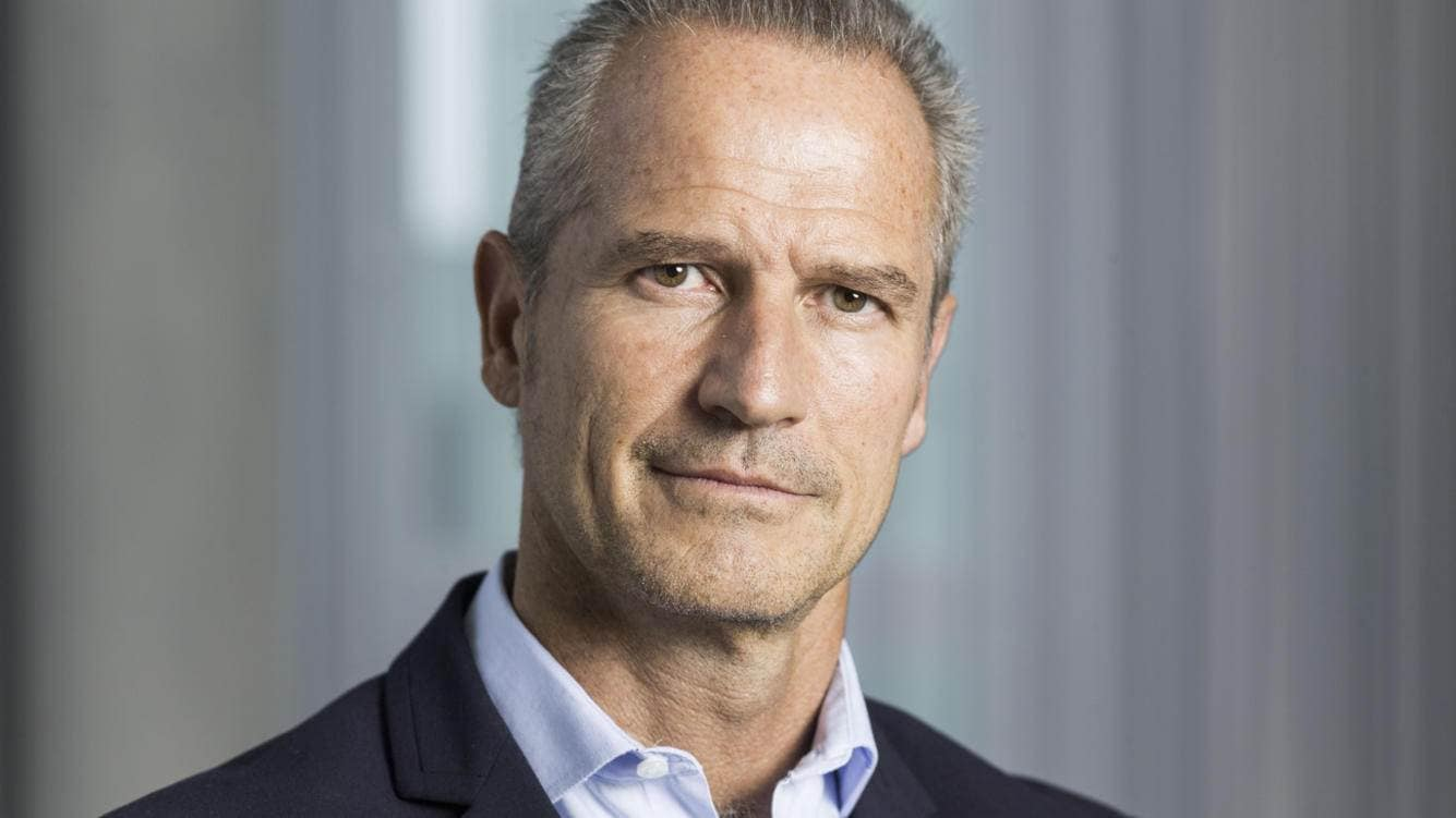 Marco Gadola, CEO der Straumann-Gruppe, portraitiert am 15. September 2015 im Geschaeftssitz in Basel. (KEYSTONE/Christian Beutler)Portrait of Marco Gadola, CEO of Straumann Group, taken in Basel, Switzerland, on September 15, 2015. (KEYSTONE/Christian Beutler)