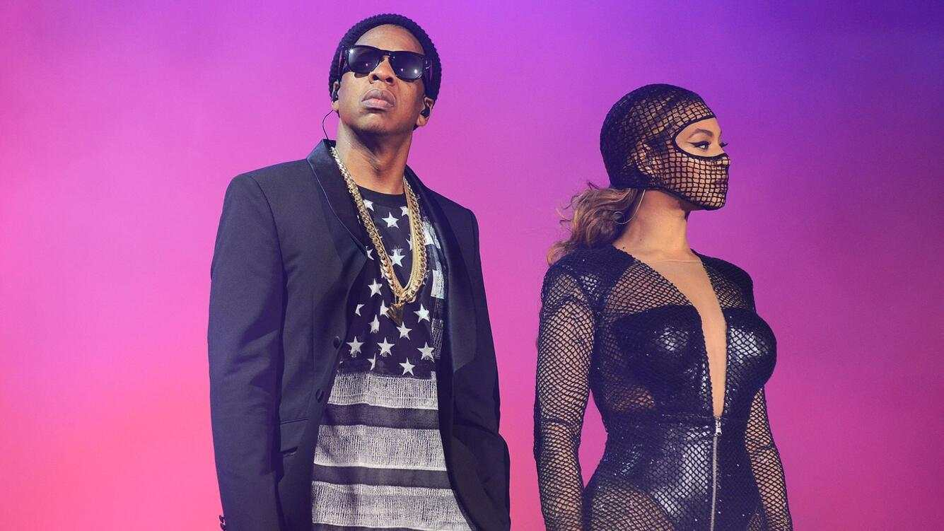 IMAGE DISTRIBUTED FOR PARKWOOD ENTERTAINMENT - Beyonce and JAY Z perform on stage during the On the Run tour at Safeco Field on Wednesday, July 30, 2014, in Seattle. (Photo by Mason Poole/Invision for Parkwood Entertainment/AP Images)