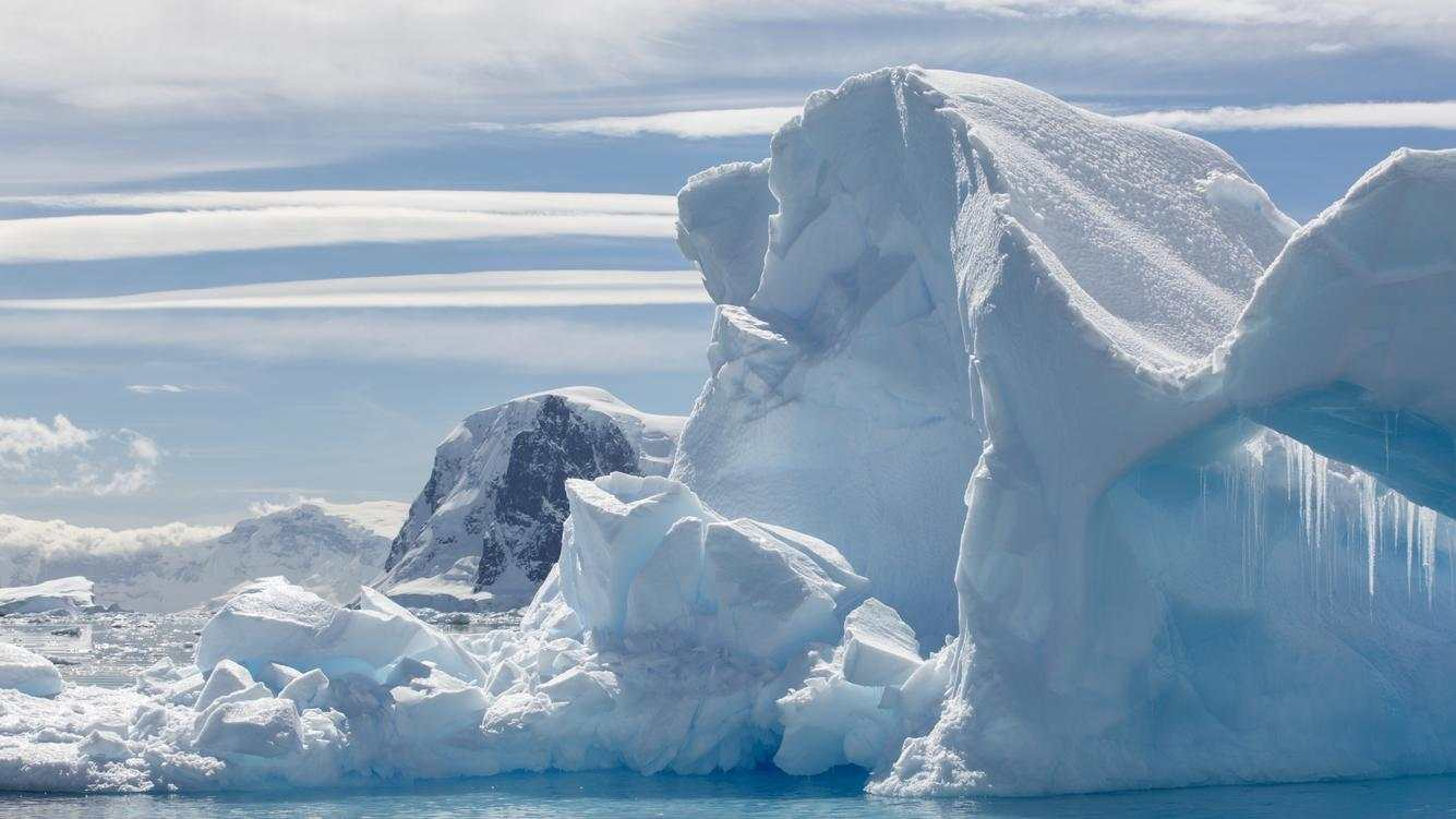 Melting Iceberg, Antarctica, December 12, 2018.PHOTOGRAPH BY Costfoto / Barcroft Images (Photo credit should read Costfoto / Barcroft Images / Barcroft Media via Getty Images)