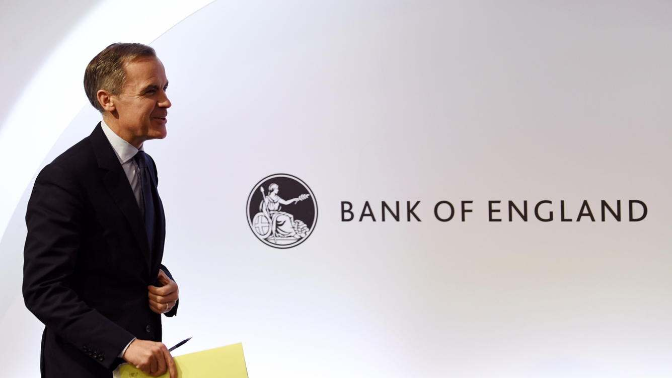 epa07195515 The Bank of England Governor Mark Carney attending a press conference during the unveiling of the Bank of England's Financial Stability Report and scenario analysis of Brexit at the Bank of England in London, Britain, 28 November 2018. British Prime Minister Theresa May is seeking Parliamentary approval of a draft Withdrawal Agreement taking the United Kingdom out of the European Union.  EPA/WILL OLIVER