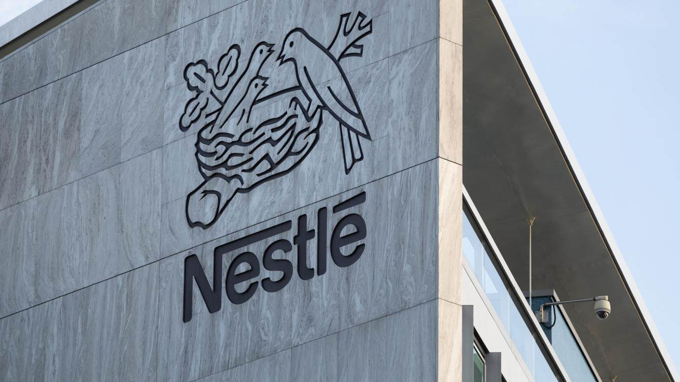 Nestle-Logo in Vevey
