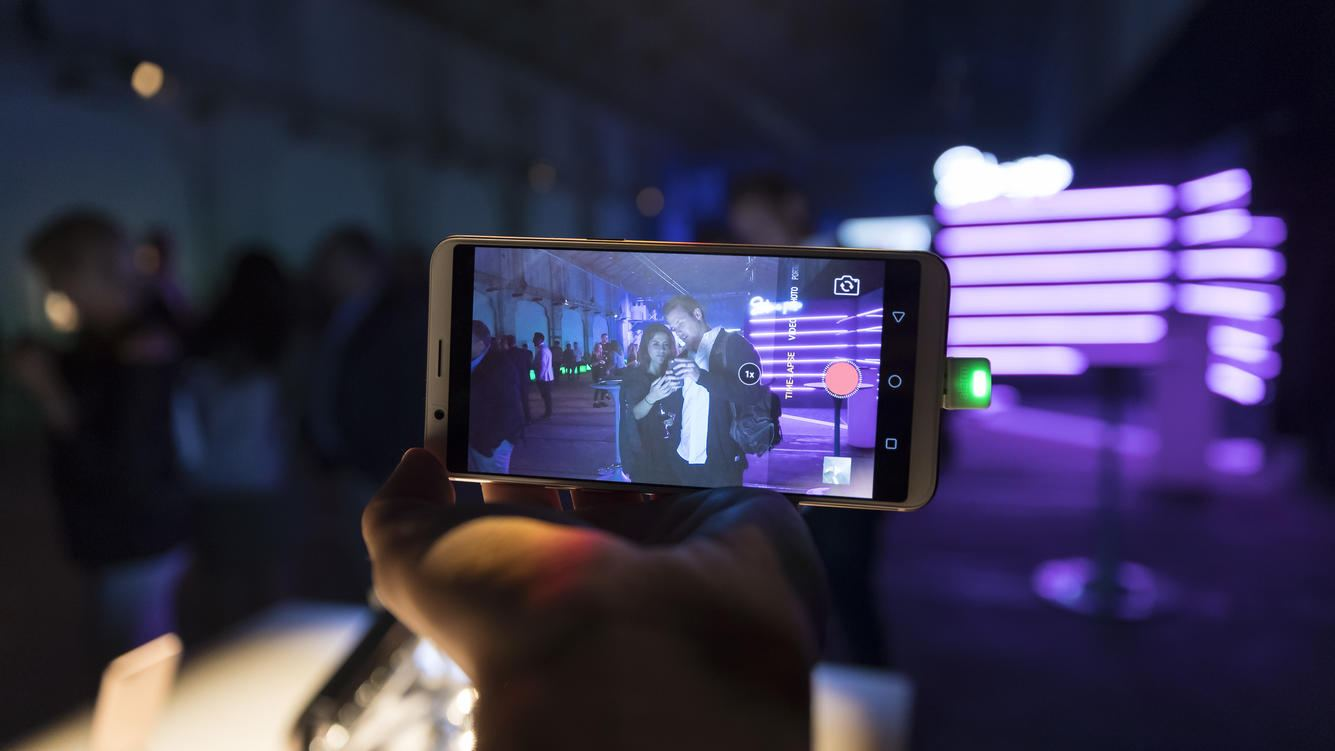 SYDNEY, NEW SOUTH WALES - FEBRUARY 01:  OPPO phone displayed at The OPPO launch at Carriageworks on February 1, 2018 in Sydney, Australia.  (Photo by Brook Mitchell/Getty Images for OPPO Australia)