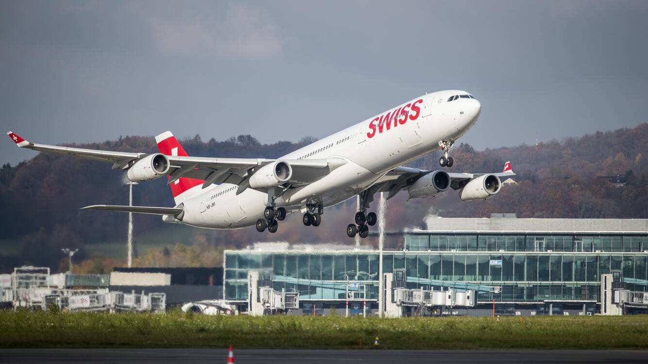Airbus 340-300 Swiss Airlines