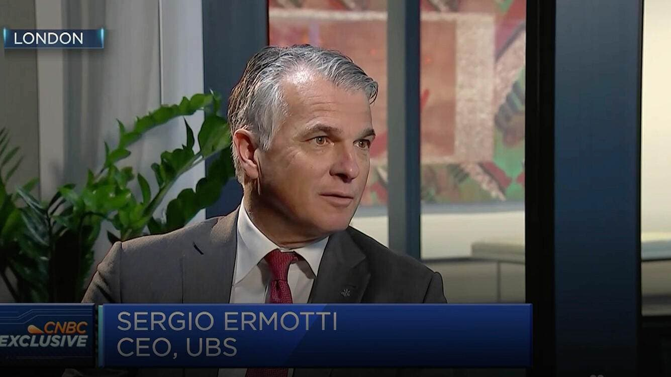 Sergio Ermotti UBS London Investment Banking