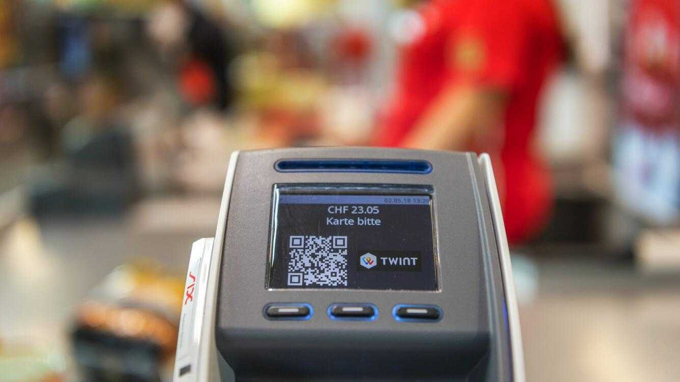 Twint Mobile Payment Station E-Commerce