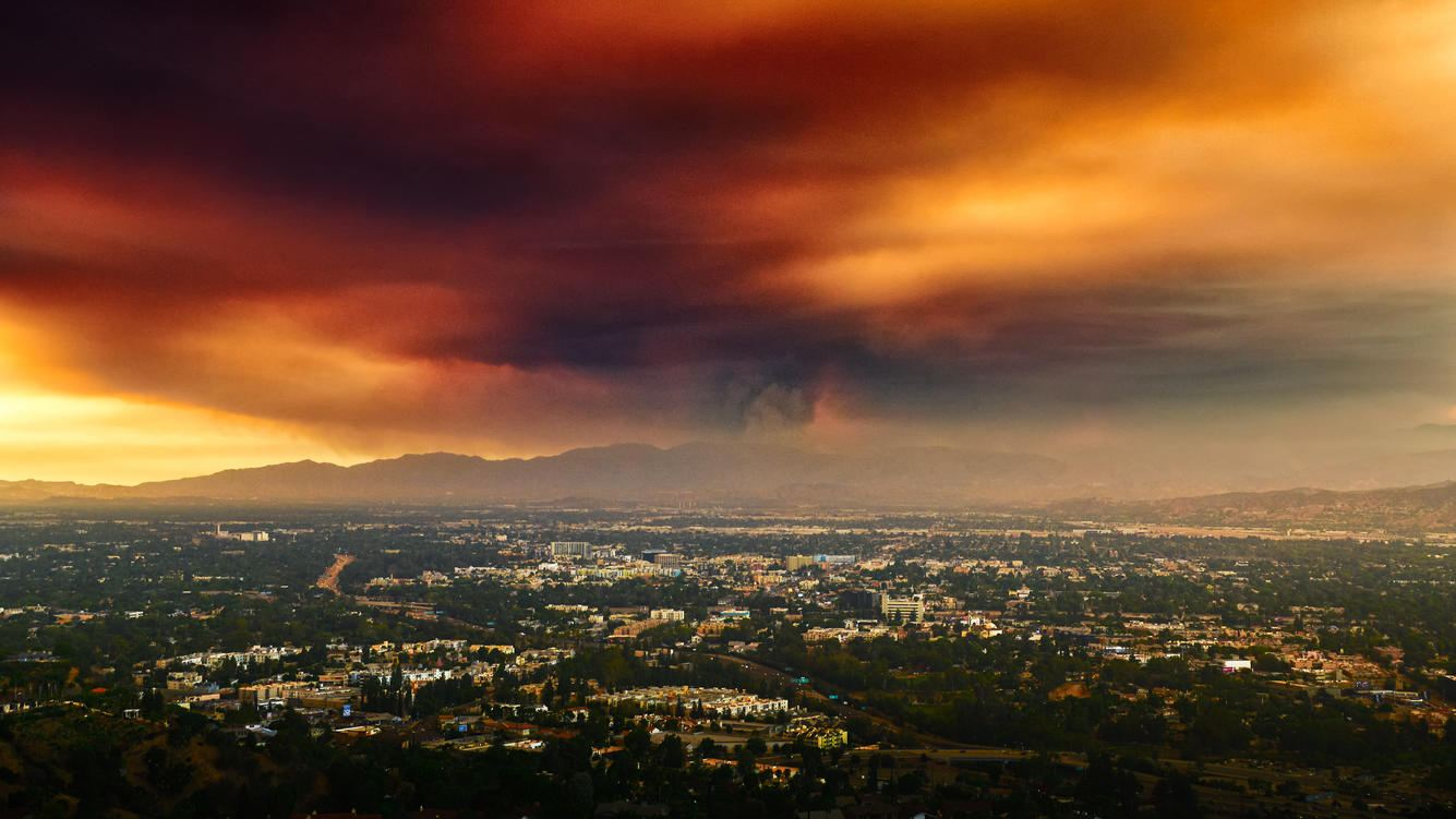 Waldbrand nahe Los Angeles