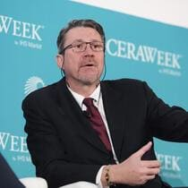 Daniel Jaeggi, co-founder and president of Mercuria Energy Group Ltd., speaks during the 2018 CERAWeek by IHS Markit conference in Houston, Texas, U.S., on Tuesday, March 6, 2018. CERAWeek gathers energy industry leaders, experts, government officials and policymakers, leaders from the technology, financial, and industrial communities to provide new insights and critically-important dialogue on energy markets. Photographer: F. Carter Smith/Bloomberg