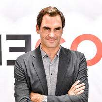 NEW YORK, NEW YORK - AUGUST 20: Roger Federer launches a new Uniqlo LifeWear Collection at the Uniqlo NYC Flagship with an appearance and an intimate conversation on August 20, 2019 in New York City. (Photo by Craig Barritt/Getty Images for Uniqlo)