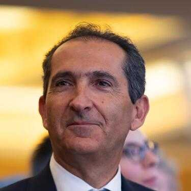 French-Israeli president of French telecoms and media group Altice Patrick Drahi attends the official inauguration of the European Center for Judaism (Centre Europeen Du Judaisme) in Paris on October 29, 2019. (Photo by Ian LANGSDON / POOL / AFP) (Photo by IAN LANGSDON/POOL/AFP via Getty Images)