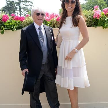 ASCOT, ENGLAND - JUNE 21:  Bernie Ecclestone (L) and guest attend day 2 of Royal Ascot at Ascot Racecourse on June 21, 2017 in Ascot, England.  (Photo by Kirstin Sinclair/Getty Images for Ascot Racecourse)