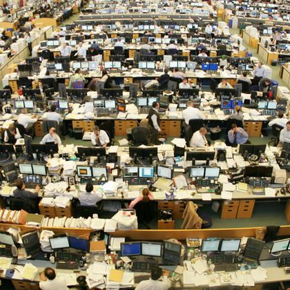 Trading Floor Investment Banking