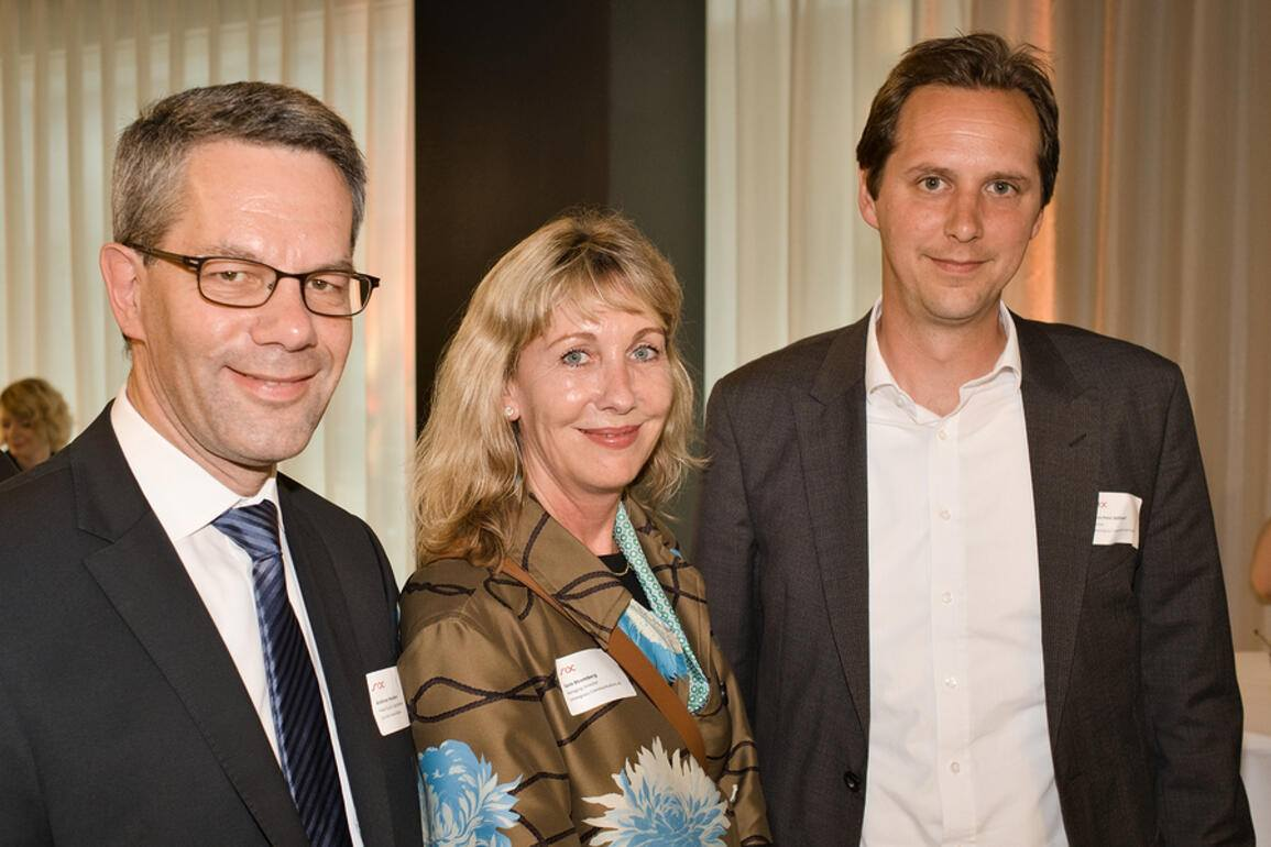Andreas Neumann, Head Equity Capital Markets, Zürcher Kantonalbank; Karin Rhomberg, Managing Director, Lemongrass Communications AG; Hans-Peter Wäfler, Partner, Lemongras Communications AG