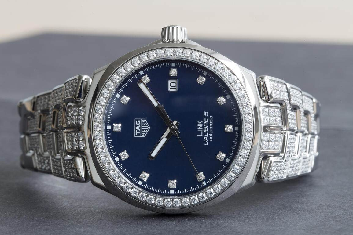 Tag Heuer Link Diamonds