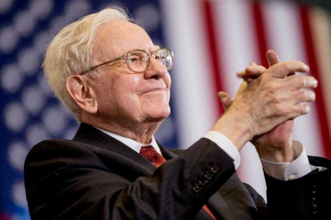 Warren Buffett, CEO von Berkshire Hathaway