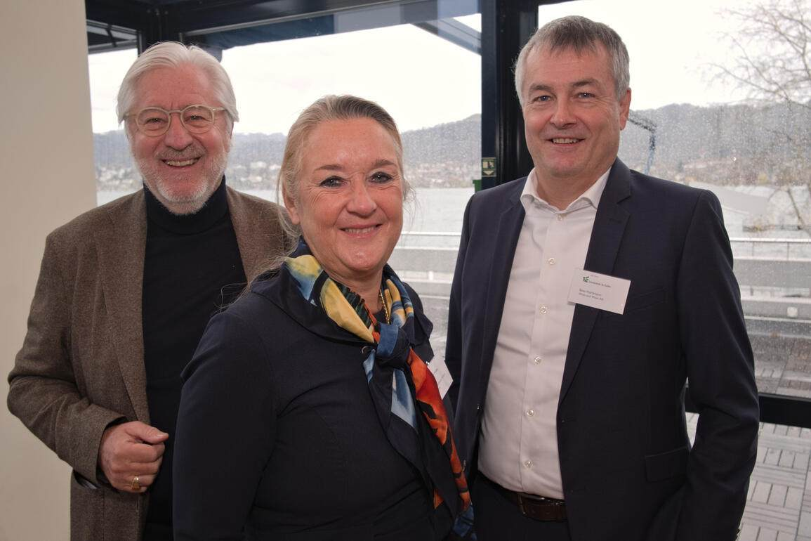Herbert Wüst, Intercity Group;Cornelia Hürlimann-Höfliger, Intercity Group;Beat Hürlimann, Wüst und Wüst AG