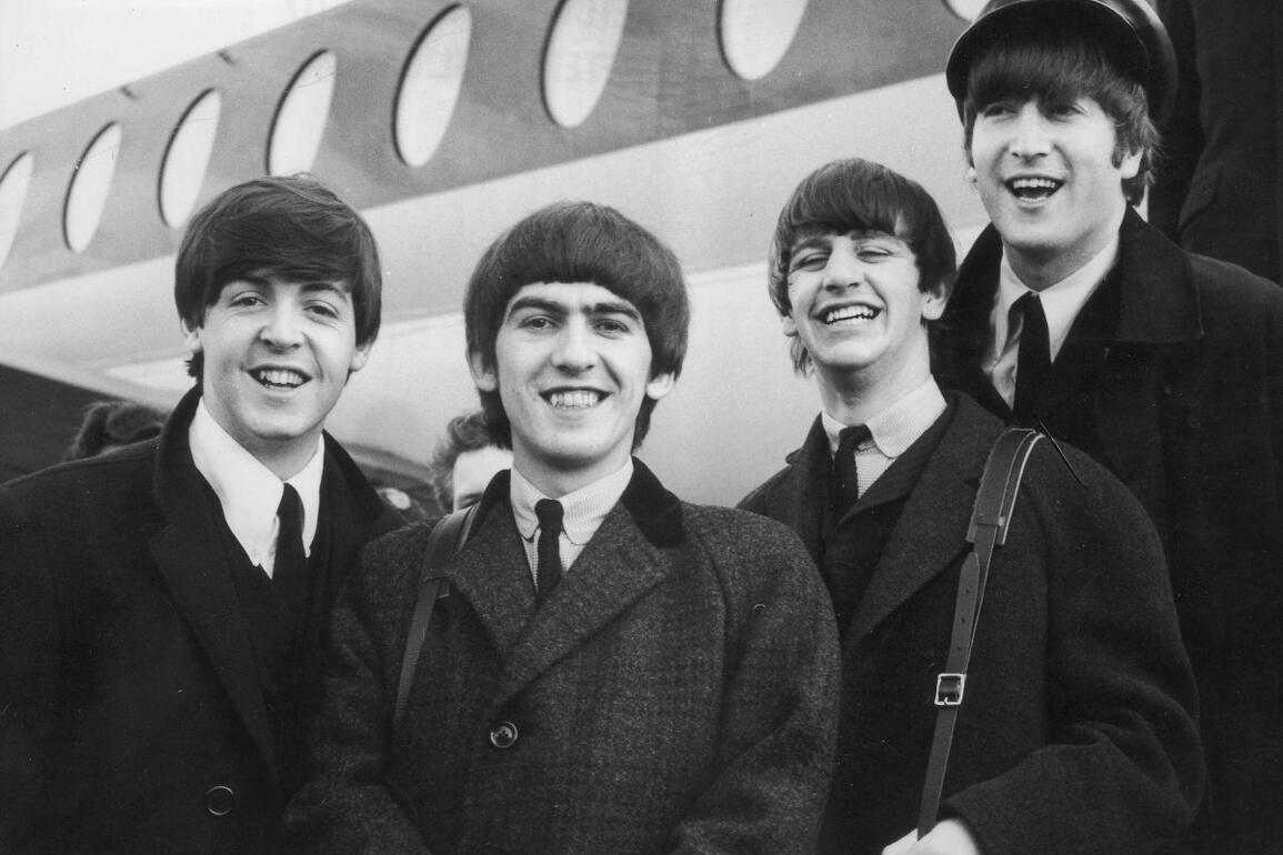 Die «Fab Four»: John Lennon, Paul McCartney, George Harrison und Ringo Starr.
