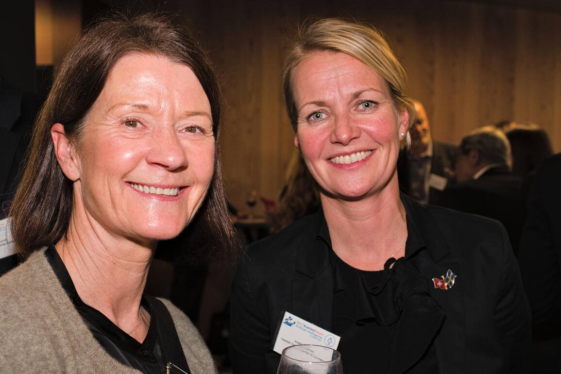 Pia Håkansson;Annette Österholm, Swedish Swiss Chamber of Commerce