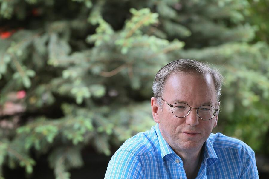 SUN VALLEY, ID - JULY 07:  Eric Schmidt, CEO of Google, attends the Allen & Company Sun Valley Conference on July 7, 2011 in Sun Valley, Idaho. The conference has been hosted annually by the investment firm Allen & Company each July since 1983. The conference is typically attended by many of the world's most powerful media executives.  (Photo by Scott Olson/Getty Images)