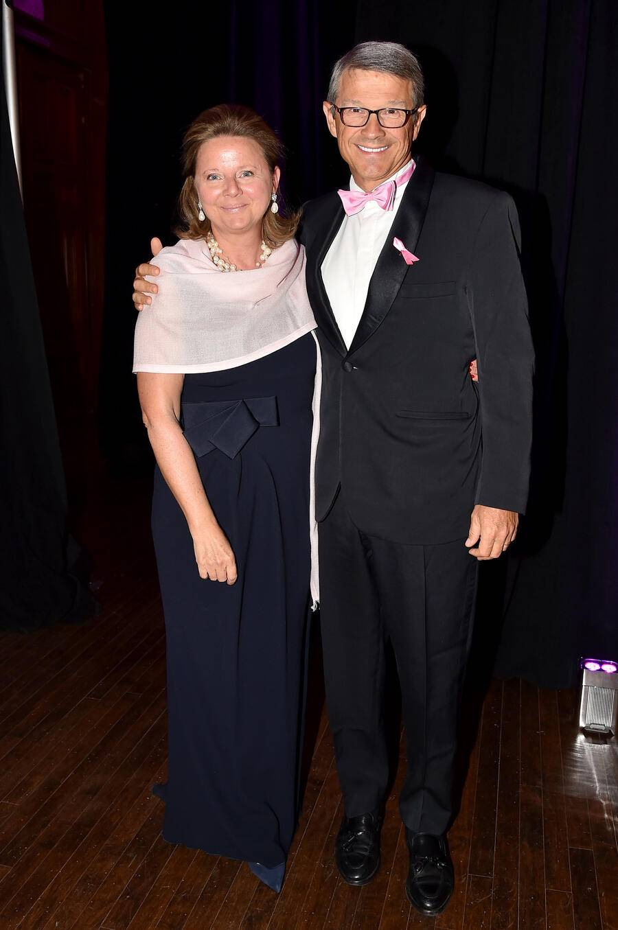 "Valentine Firmenich, Patrick Firmenich==2017 Hot Pink Party ""Super Nova"" presented by the Breast Cancer Research Foundation==Park Avenue Armory, NYC==May 12, 2017==©Patrick McMullan==Photo - Patrick McMullan/PMC===="