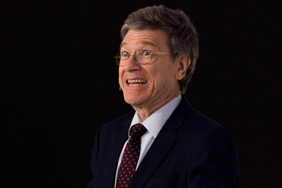 Jeffrey Sachs, Director, Center for Sustainable Development. The Earth Institute, Columbia University, speaks during the World Coffee Producers Forum in Medellin, Colombia, on Tuesday, July 11, 2017. (Photo by Daniel Garzon Herazo/NurPhoto via Getty Images)