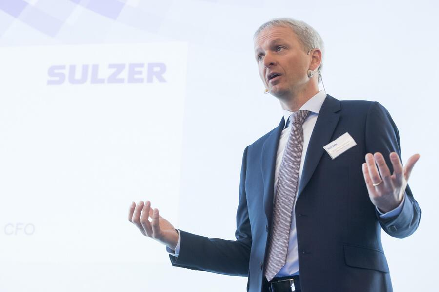 Sulzer-CEO Greg Poux-Guillaume