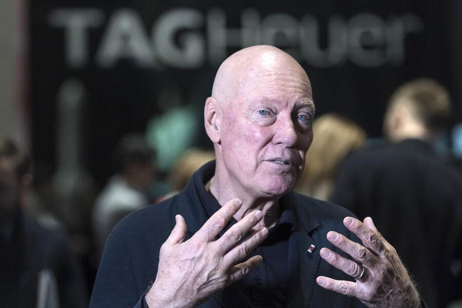 Jean-Claude Biver pictured at the world watch and jewellery show Baselworld in Basel, Switzerland, on Thursday, March 22, 2018. (KEYSTONE/Georgios Kefalas)