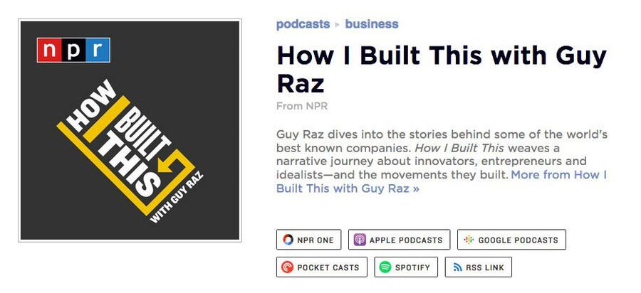 How I Built This: Podcast
