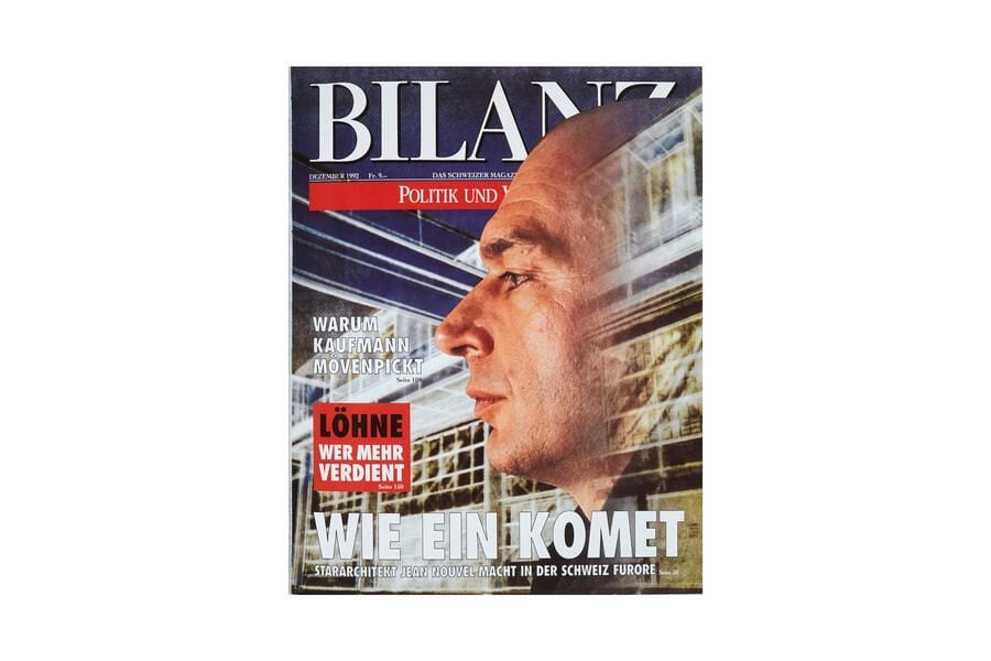 Jean Nouvel Bilanz Cover
