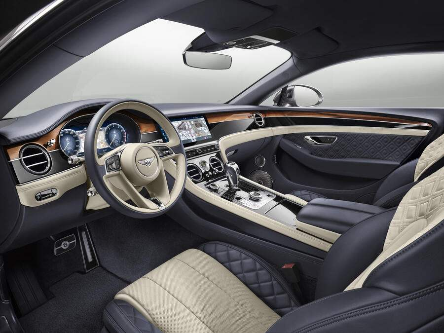 Bentley New Continental GT Innen