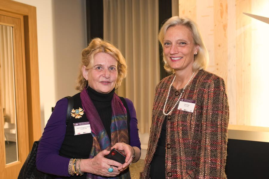 Beatrice Engström-Bondy, Investor AG, Senior Advisor to the Chairman Office of jacob Wallenberg;Ulrika Hagle, Korn Ferry