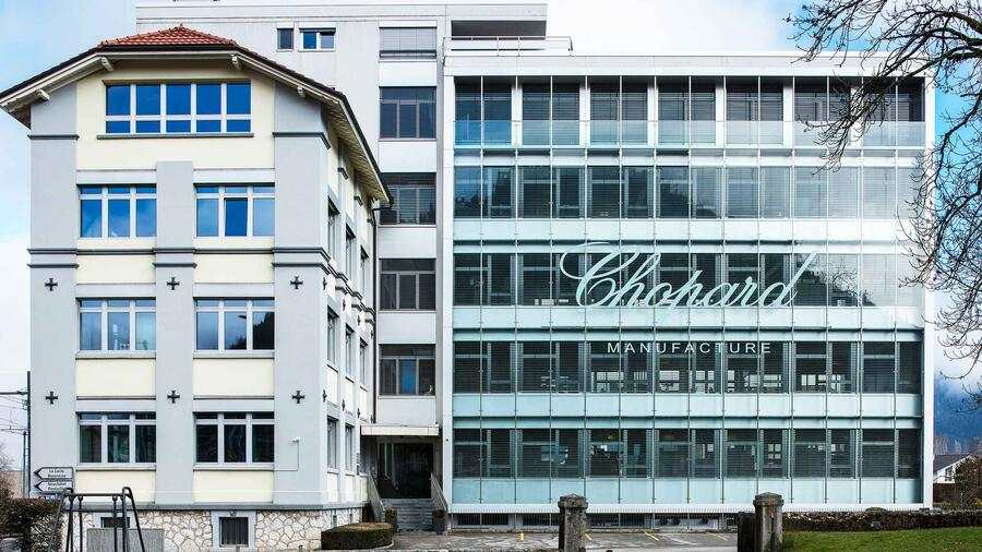 Chopard Manufacture mit Sitz in Fleurier im Val-de-Travers