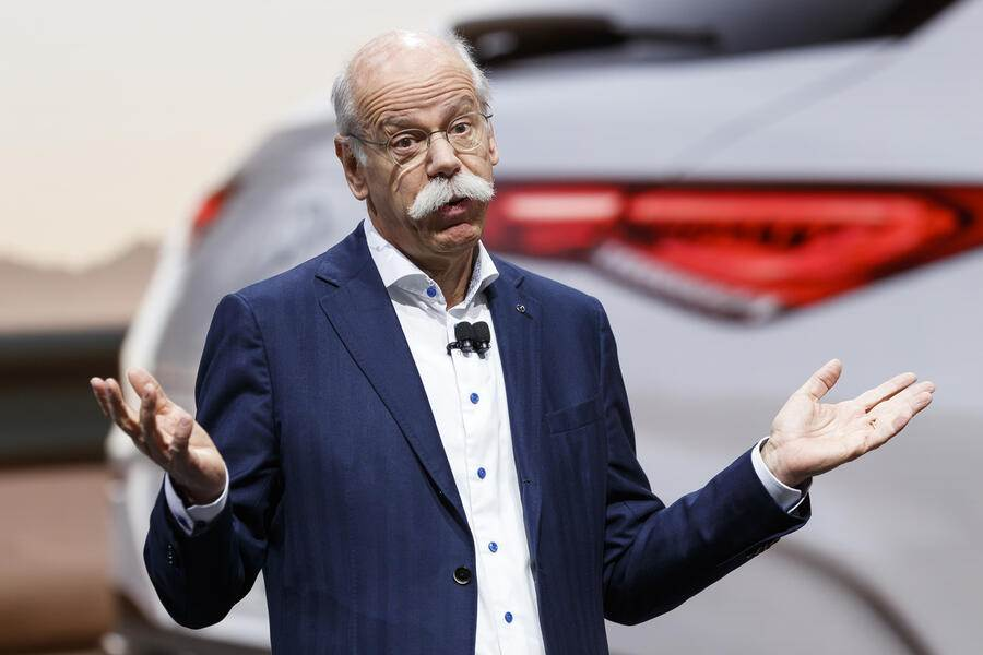 Dieter Zetsche, CEO of Daimler AG and Head of Mercedes-Benz Cars during the press day at the 89th Geneva International Motor Show in Geneva, Switzerland, Tuesday, March 5, 2019. The Motor Show will open its gates to the public from 7 to 17 March presenting more than 180 exhibitors and more than 100 world and European premieres. (KEYSTONE/Cyril Zingaro).