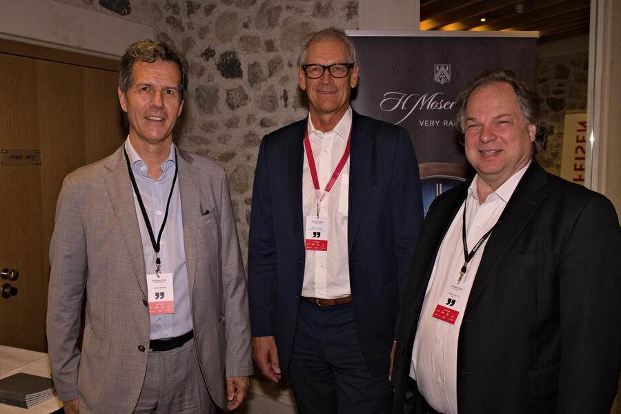 Richard Fritschi, Präsident, Sphinx Tools;Christoph Hilber, P-CONNECT Executive Search & Outplacement;Jean-Luc Cornaz, Citecs AG