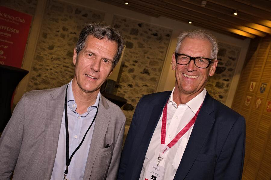 Richard Fritschi, Präsident, Sphinx Tools;Christoph Hilber, P-CONNECT Executive Search & Outplacement
