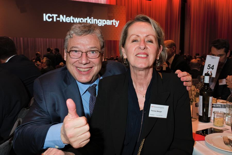 Filippo Lombardi, Ständerat;Therese Wenger, Sunrise Communications AG